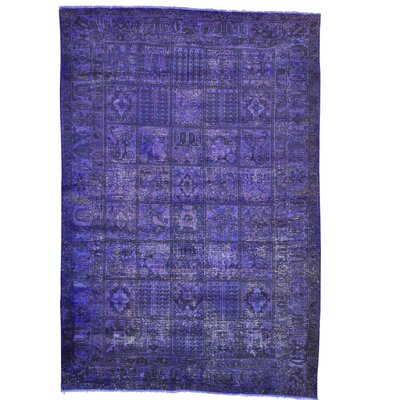 One-of-a-Kind Gracey Overdyed Oriental Hand-Knotted Area Rug