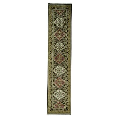One-of-a-Kind Rudolph Brown Hand-Knotted Area Rug