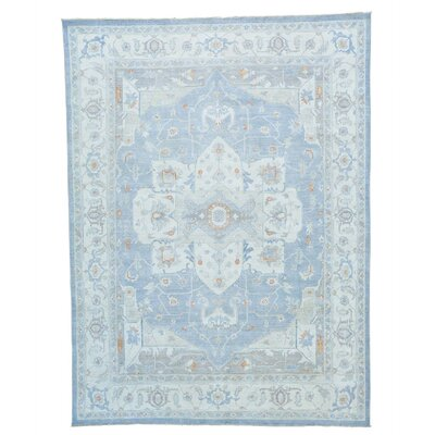 One-of-a-Kind Noemie Serapi Oriental Hand-Knotted Area Rug