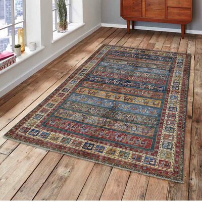 One-of-a-Kind Tillett Super Khorjin Hand-Knotted Area Rug