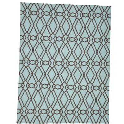Durie Kilim Reversible Hand-Knotted Brown Area Rug