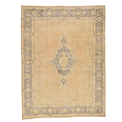 One-of-a-Kind Lear Vintage Worn Hand-Knotted Area Rug