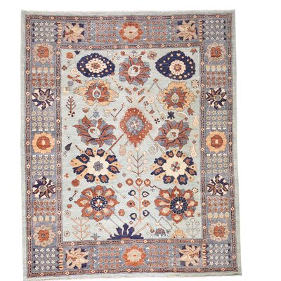 One-of-a-Kind Lavendon Sultanabad Oriental Hand-Knotted Area Rug