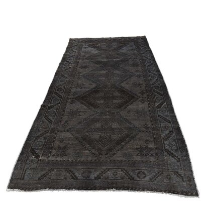 One-of-a-Kind Kendrick Overdyed Shiraz Vintage Hand-Knotted Area Rug