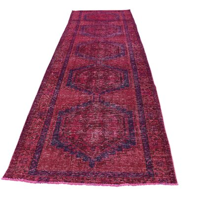 One-of-a-Kind Grasmere Overdyed Viss Hand-Knotted Area Rug