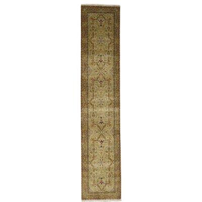 One-of-a-Kind Saltzman 300 Kpsi Hand-Knotted Silk Area Rug