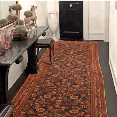 One-of-a-Kind Sager Vintage Overdyed Hand-Knotted Area Rug