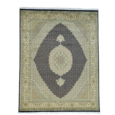 One-of-a-Kind Sager Pak Mahi 300 Kpsi Hand-Knotted Silk Area Rug