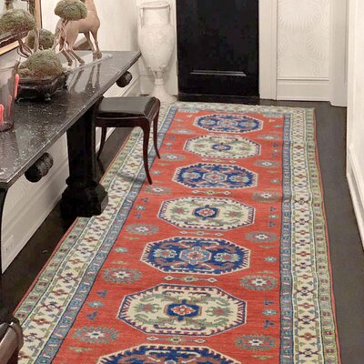 One-of-a-Kind Tillman Special Geometric Hand-Knotted Area Rug