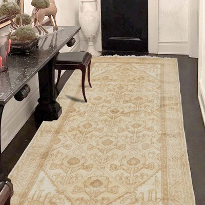 One-of-a-Kind Oritz Village Oriental Hand-Knotted Area Rug