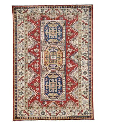 One-of-a-Kind Tilomar Super Geometric Hand-Knotted Area Rug