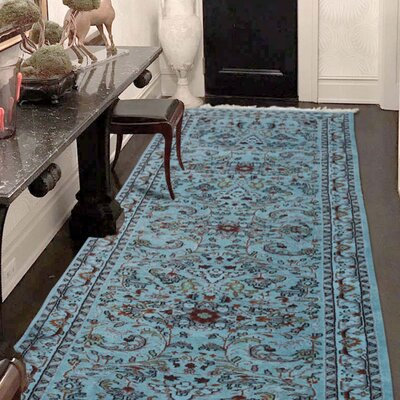 One-of-a-Kind Graddy Overdyed Animal Hand-Knotted Area Rug