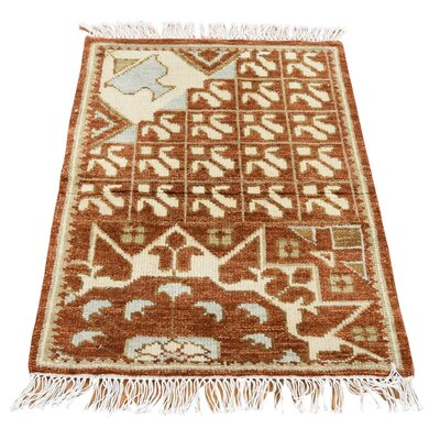 One-of-a-Kind Gowdy Oriental Hand-Knotted Area Rug