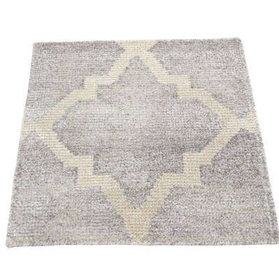 One-of-a-Kind Rorie Sample Oriental Hand-Knotted Area Rug