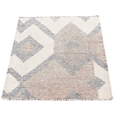 One-of-a-Kind Rorie Double Weft Sample Oriental Hand-Knotted Area Rug