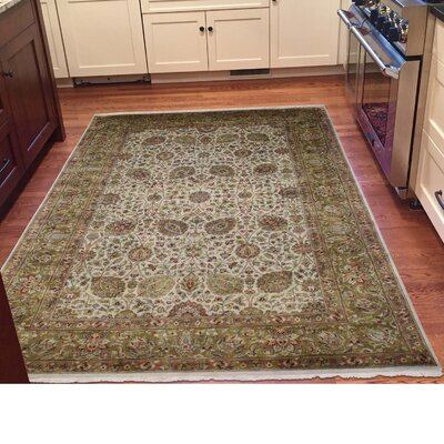 One-of-a-Kind Samons New Zealand 300 Kpsi Hand-Knotted Area Rug