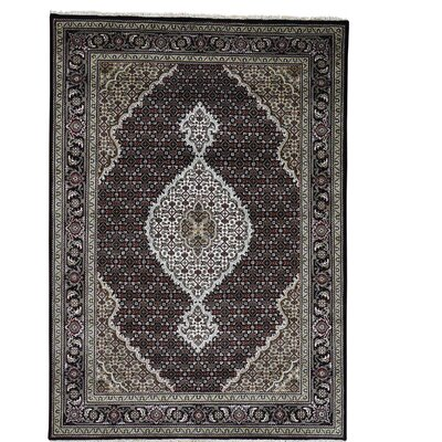 One-of-a-Kind Rudolph Mahi 250 Kpsi Oriental Hand-Knotted Silk Area Rug