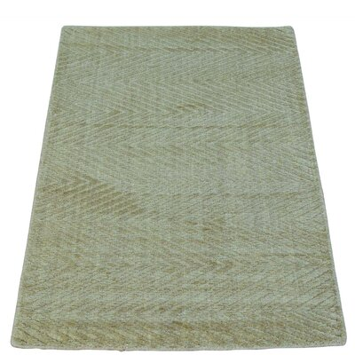 One-of-a-Kind Woodson Tone on Tone Oriental Hand-Knotted Area Rug
