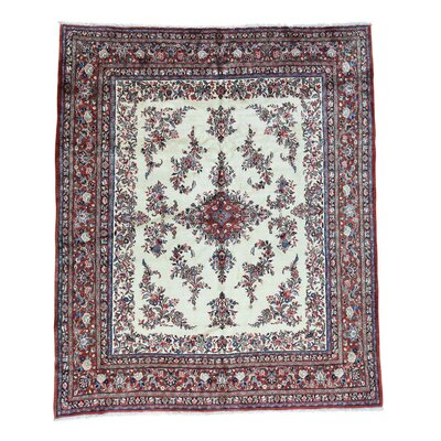 One-of-a-Kind Salvaggio Kazvin Oriental Hand-Knotted Area Rug