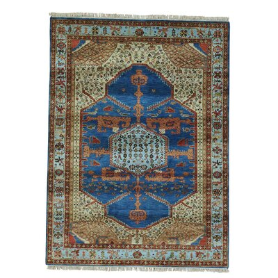 One-of-a-Kind Graver Natural Dyes High KPSI Hand-Knotted Area Rug