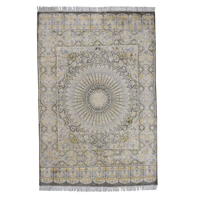 One-of-a-Kind Kenilworth 300 Kpsi Pak Gumbad Hand-Knotted Area Rug