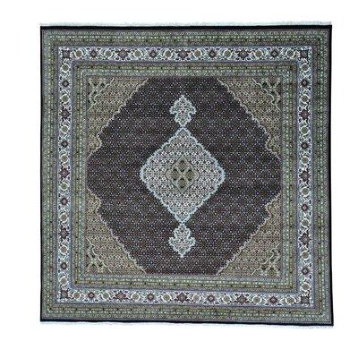 One-of-a-Kind Saltzman 250 Kpsi Mahi Hand-Knotted Silk Area Rug