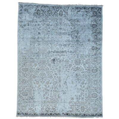 One-of-a-Kind Osmonde Broken Oriental Hand-Knotted Silk Area Rug