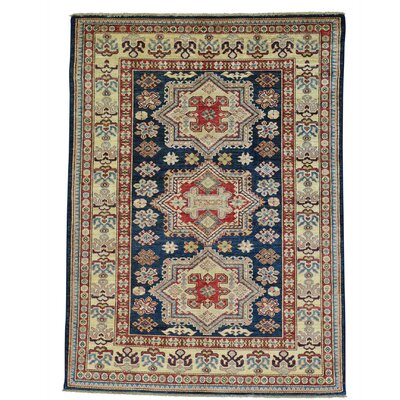 One-of-a-Kind Govea Geometric Super Hand-Knotted Area Rug