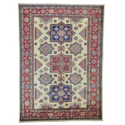 One-of-a-Kind Tillett Geometric Super Hand-Knotted Area Rug