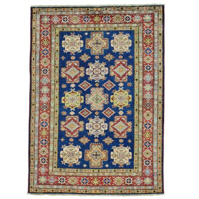 One-of-a-Kind Tillett Super Geometric Hand-Knotted Area Rug