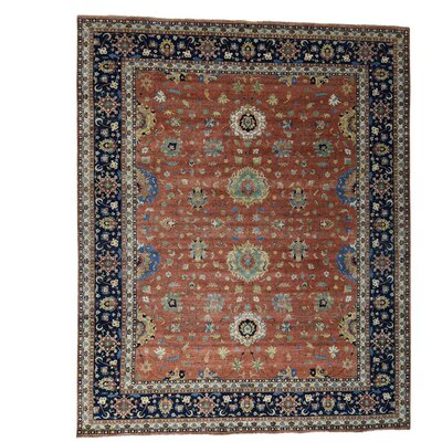 One-of-a-Kind Rueter All Over Hand-Knotted Area Rug
