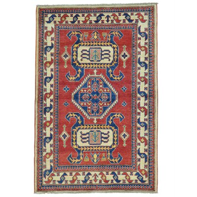 One-of-a-Kind Govea Geometric Hand-Knotted Area Rug
