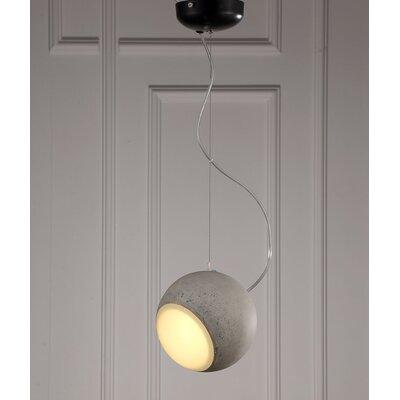 Solomon 1-Light Globe Pendant