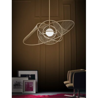 Mazzarelli 1-Light Geometric Pendant