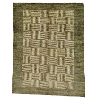 One-of-a-Kind Rossman Modern Oriental Hand-Knotted Area Rug
