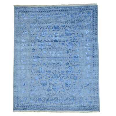 One-of-a-Kind Ishiro Hand-Knotted Silk Area Rug