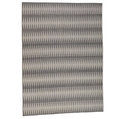 Reversible Flat Weave Durie Kilim Hand-Knotted Gray Area Rug