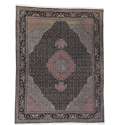 One-of-a-Kind Saltzman Mahi 250KPSI Hand-Knotted Silk Area Rug