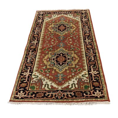 One-of-a-Kind Lawerence Serapi Heriz Hand-Knotted Area Rug