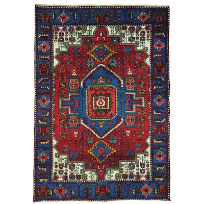 One-of-a-Kind Govan Nahavand Oriental Hand-Knotted Area Rug