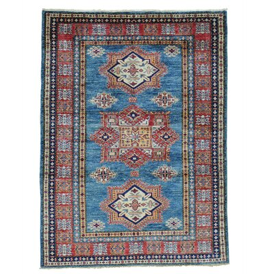 One-of-a-Kind Tilomar Geometric Super Oriental Hand-Knotted Area Rug