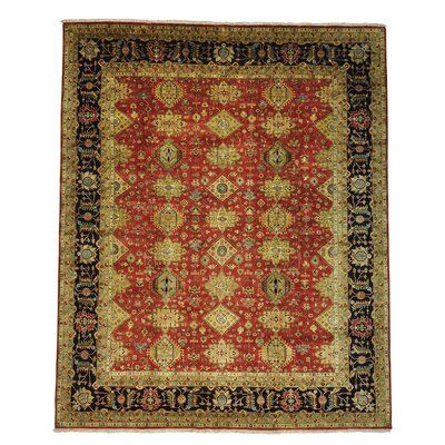 One-of-a-Kind Leela Karajeh Oriental Hand-Knotted Area Rug