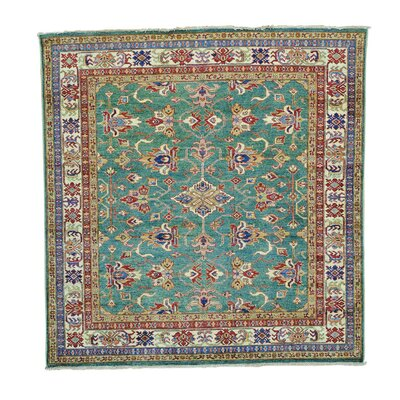 One-of-a-Kind Tillman Light Super Geometric Hand-Knotted Area Rug