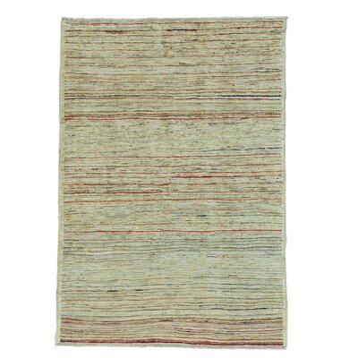One-of-a-Kind Detrick Transitional Hand-Knotted Area Rug