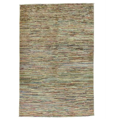 One-of-a-Kind Detrick Oriental Hand-Knotted Area Rug