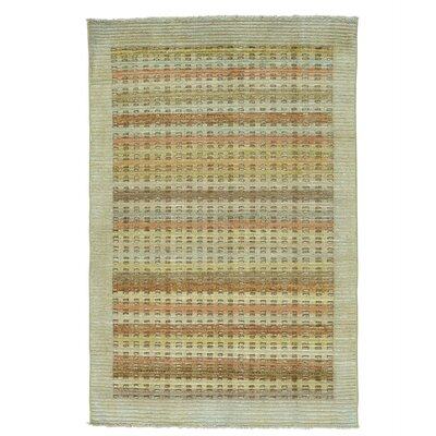 One-of-a-Kind Rothrock High and Low Raised Hand-Knotted Area Rug