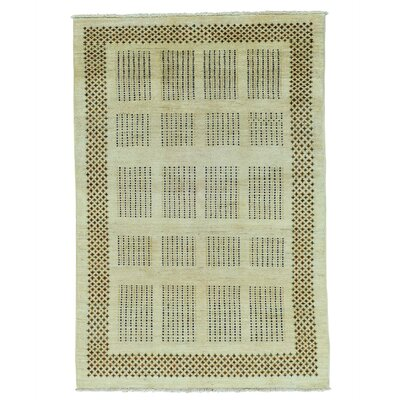 One-of-a-Kind Rothermel Natural Dyes Modern Oriental Hand-Knotted Area Rug