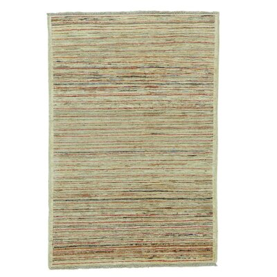 One-of-a-Kind Rothermel Hand-Knotted Wool Multicolored Area Rug