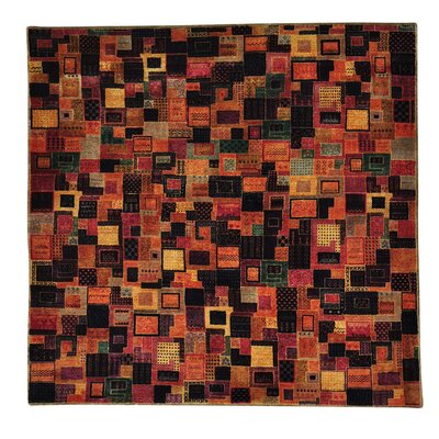 One-of-a-Kind Grice Patchwork Oriental Hand-Knotted Silk Area Rug