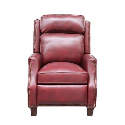 Van Buren Manual Recliner Upholstery: Wenlock Carmine